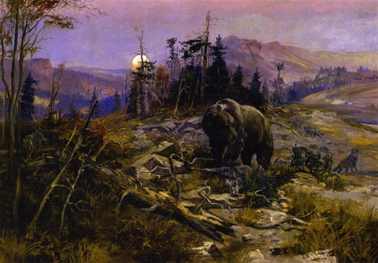 To the Victor Belong the Spoils, 1901 - Charles M. Russell