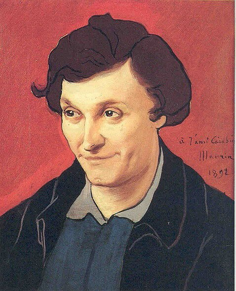 Portrait de François-Rupert Carabin - Charles Maurin