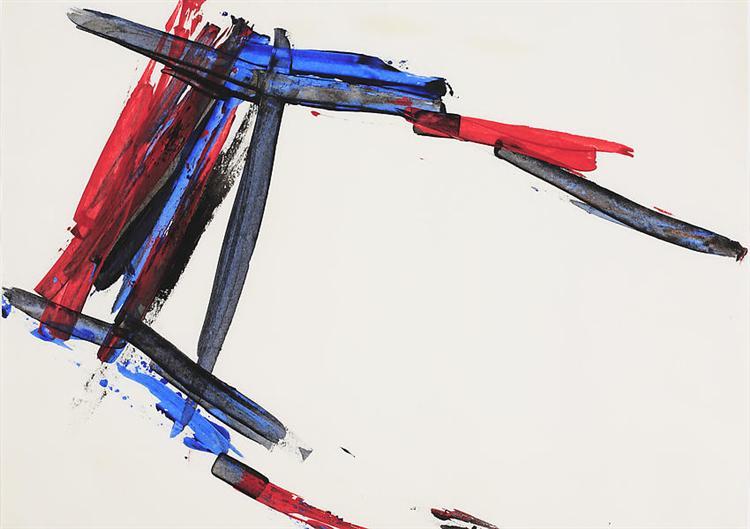 Untitled, 1962 - Charlotte Posenenske