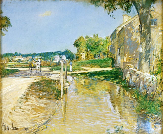A Country Road, 1891 - Childe Hassam