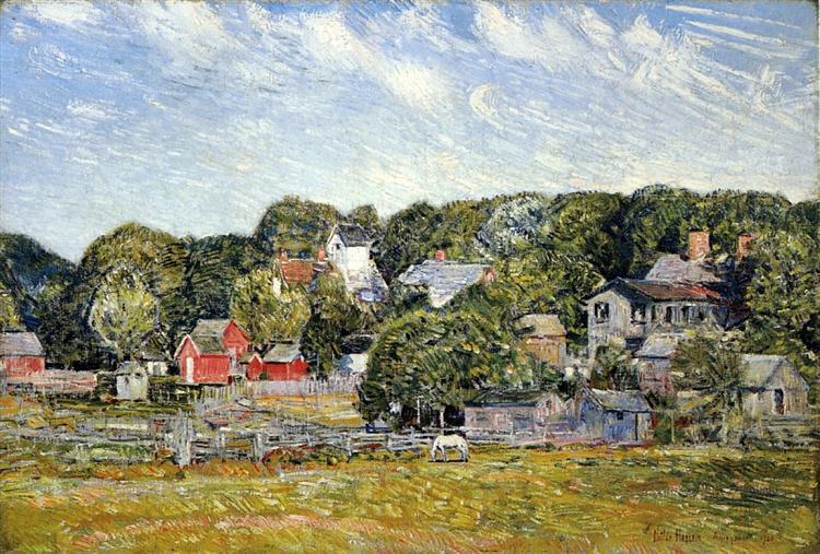 Amagansett, Long Island, 1920 - Childe Hassam