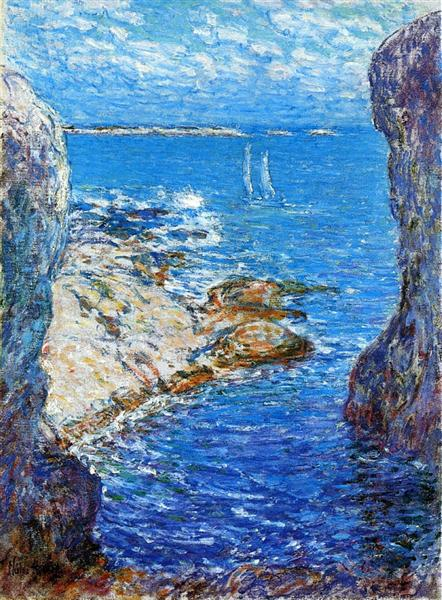 An Isles of Shoals Day, 1901 - Childe Hassam
