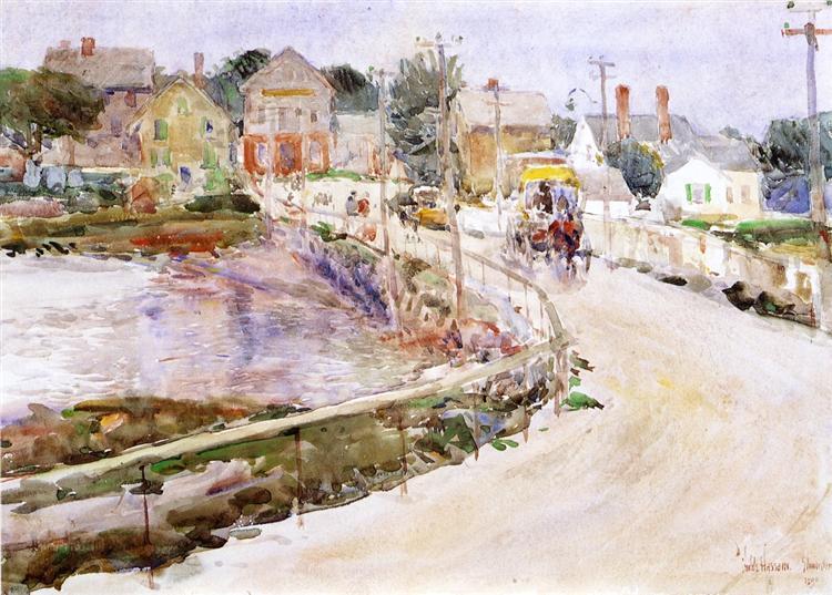 At Gloucester, 1890 - Childe Hassam