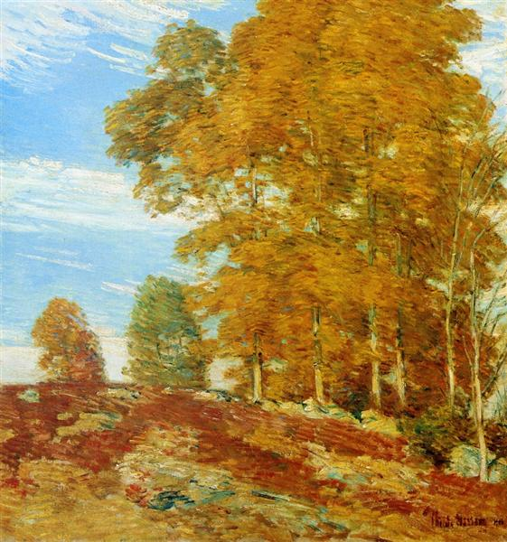 Autumn Hilltop, New England, 1906 - Childe Hassam
