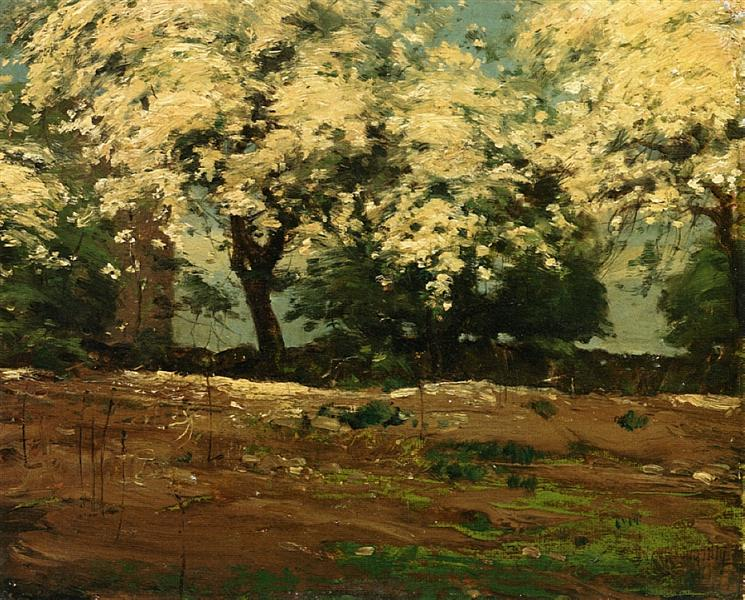 Blossoms, 1880 - 1883 - Childe Hassam