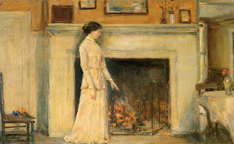 Girl Standing - Childe Hassam