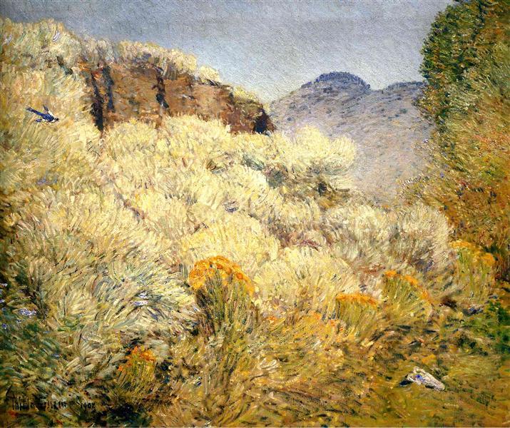 Harney Desert - Childe Hassam