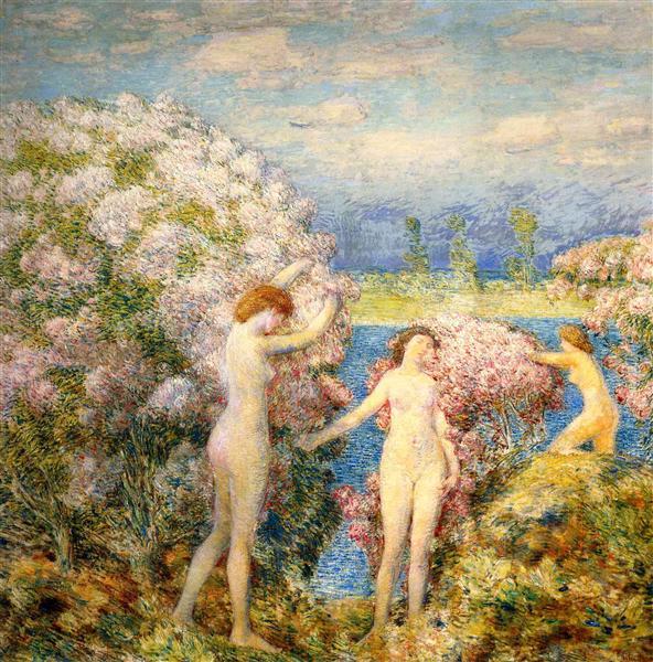 June, 1905 - Childe Hassam