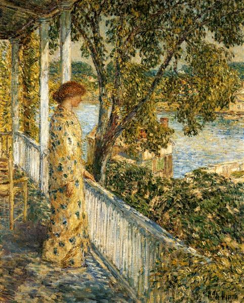 Listening to the Orchard Oriole, 1902 - Childe Hassam