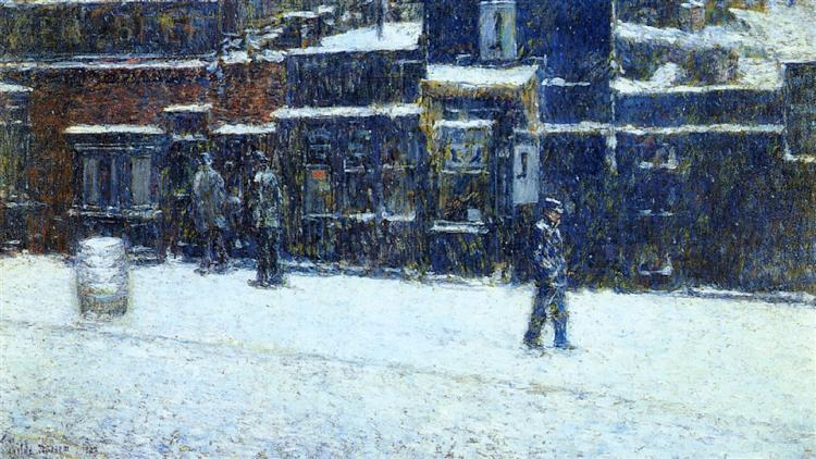 Messenger Boy, 1902 - Childe Hassam