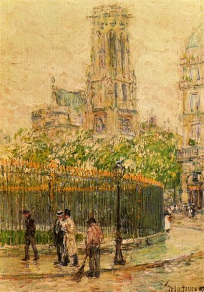St. Germain l'Auxerrois, 1897 - Childe Hassam