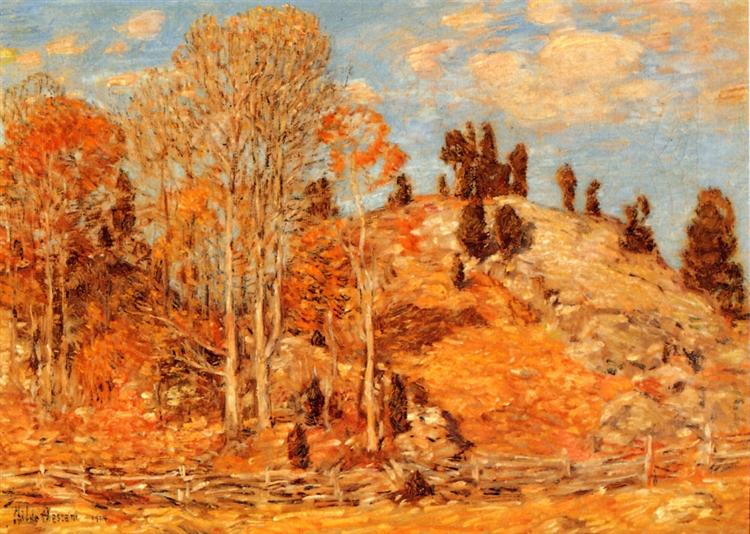 The Cedar Lot, Old Lyme, 1904 - Childe Hassam