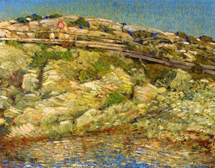 Walk Around the Island, 1890 - Childe Hassam