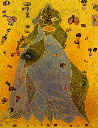 The Holy Virgin Mary, 1996 - Chris Ofili