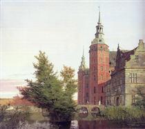 Frederiksborg Castle Seen from the Northwest - Christen Købke