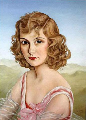 Fräulein Mulino von Kluck, 1930 - Christian Schad