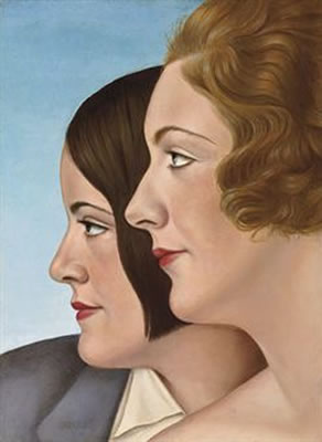 Friends, 1930 - Christian Schad