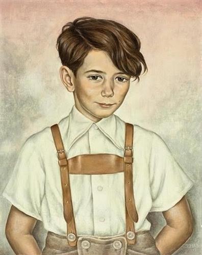 Kinderbild Hans Joachim Zimper - Christian Schad