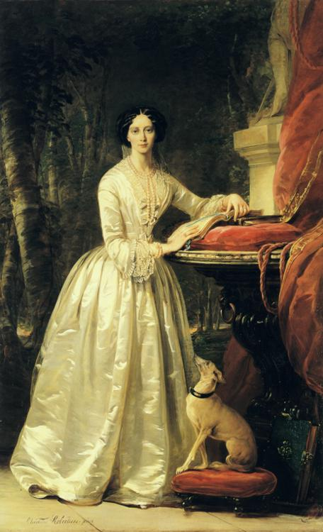 Portrait of Grand Duchess Maria Alexandrovna, 1848
