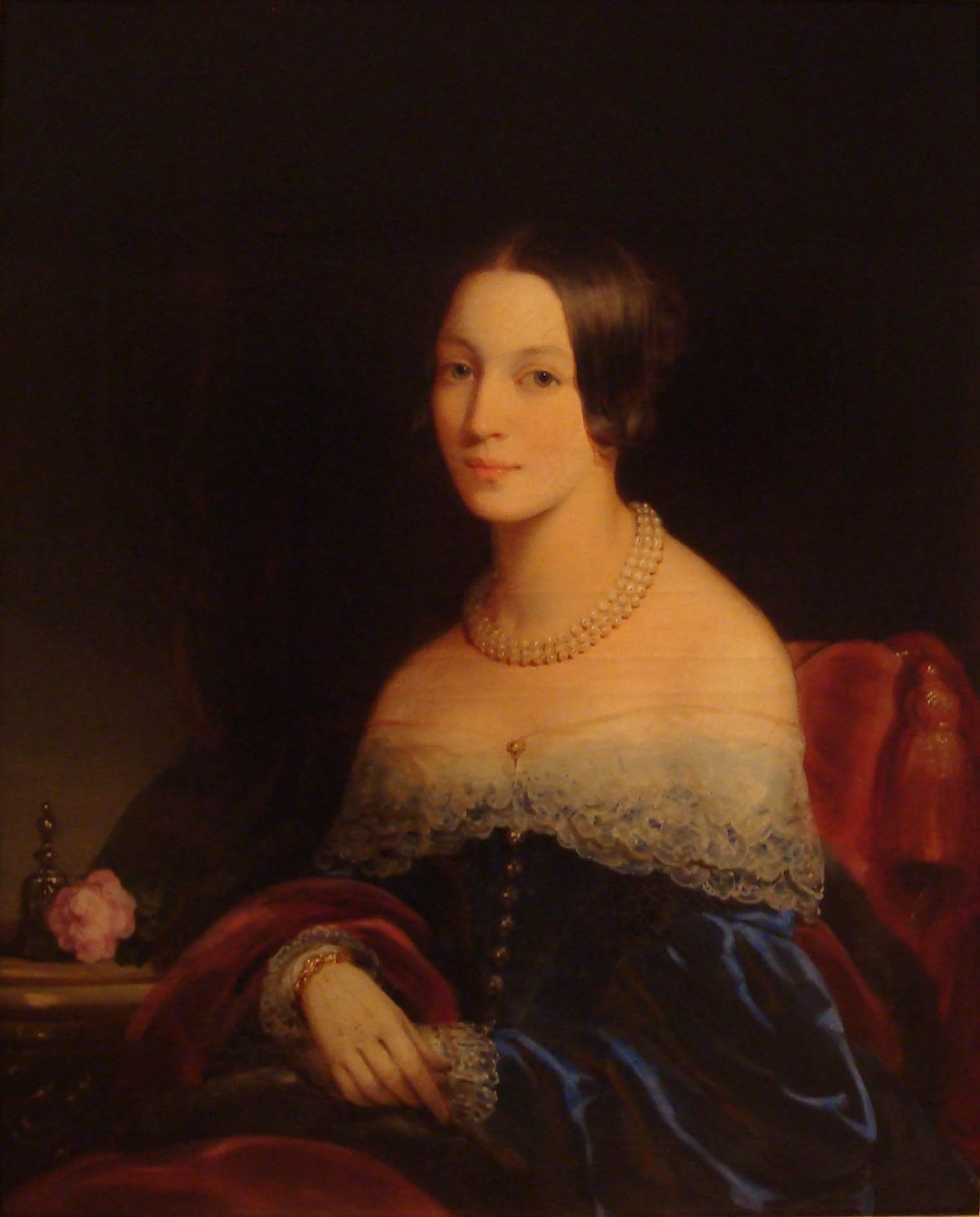 Portrait of Julia Feodorovna Kurakina, 1841