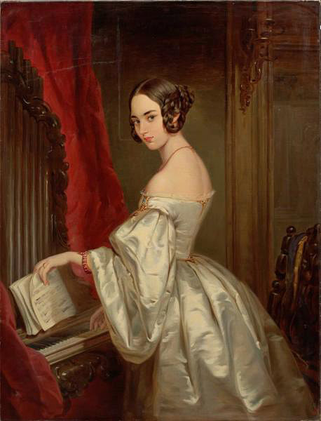 Portrait of Princess Maria Ivanovna Kochubey, 1845