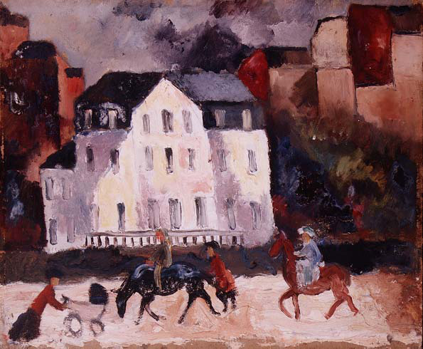 Horses in Paris, 1924 - Christopher Wood