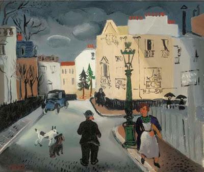 Street in Paris, 1926 - Christopher Wood