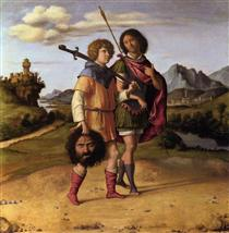 David and Jonathan - Cima da Conegliano