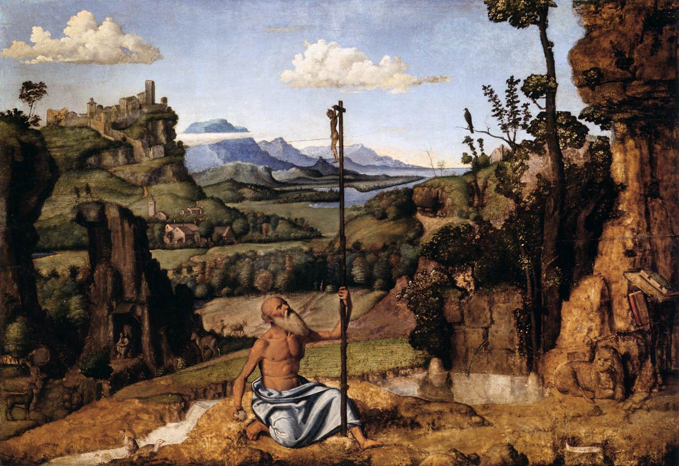 St. Jerome in the Wilderness, 1495