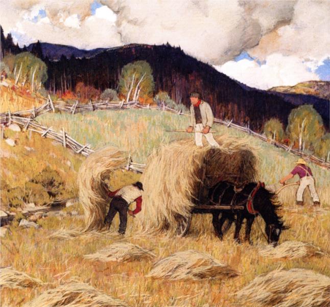 Haying, 1933 - Clarence Gagnon