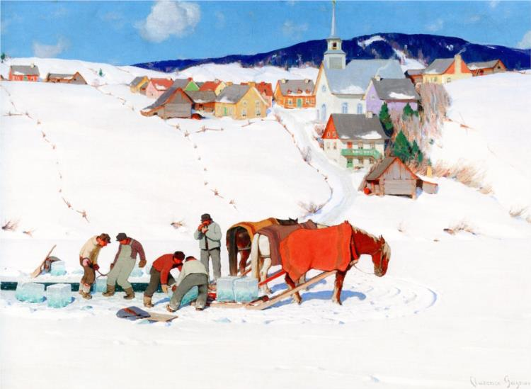 The Ice Harvest, 1935 - Clarence Gagnon