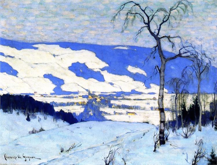 Twilight, Baie-Saint-Paul, 1924 - Clarence Gagnon