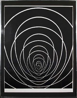 Concentric Space, 1969 - Clarence Holbrook Carter