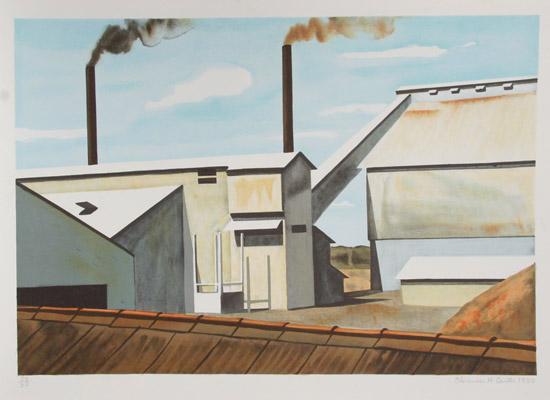 Factory, 1980 - Clarence Holbrook Carter