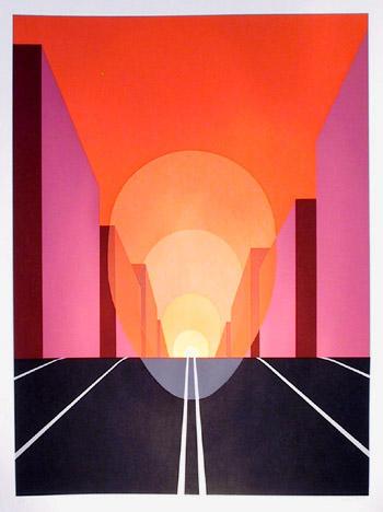 Highway, 1979 - Clarence Holbrook Carter