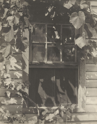 The Studio Window - Clarence White