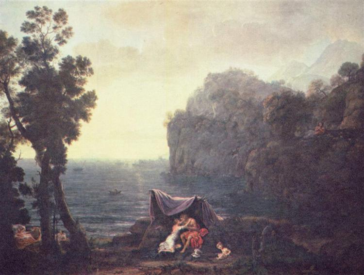 Acis and Galatea, 1657 - Claude Lorrain