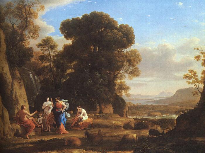The Judgement of Paris, c.1645 - Claude Lorrain