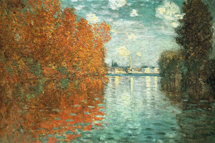 Autumn Effect at Argenteuil, 1873 - Claude Monet