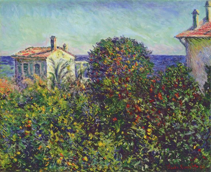 Bordighera, the House of Gardener, 1884 - Claude Monet