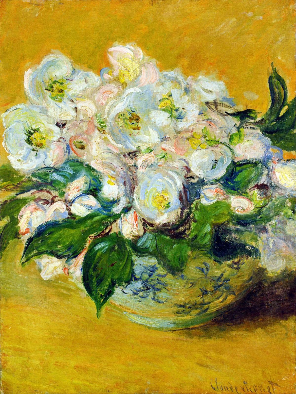 impressionism monet flowers - photo #34