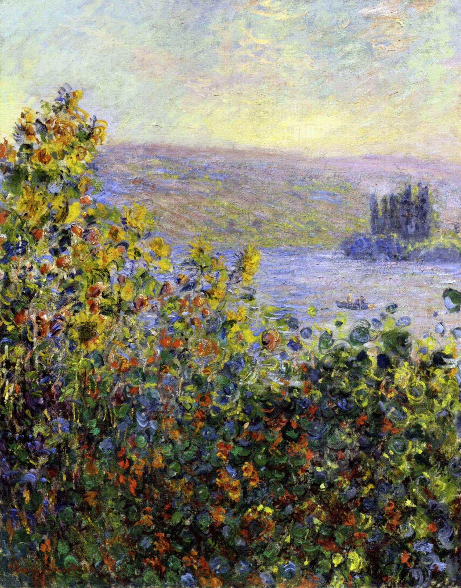 impressionism monet flowers - photo #10