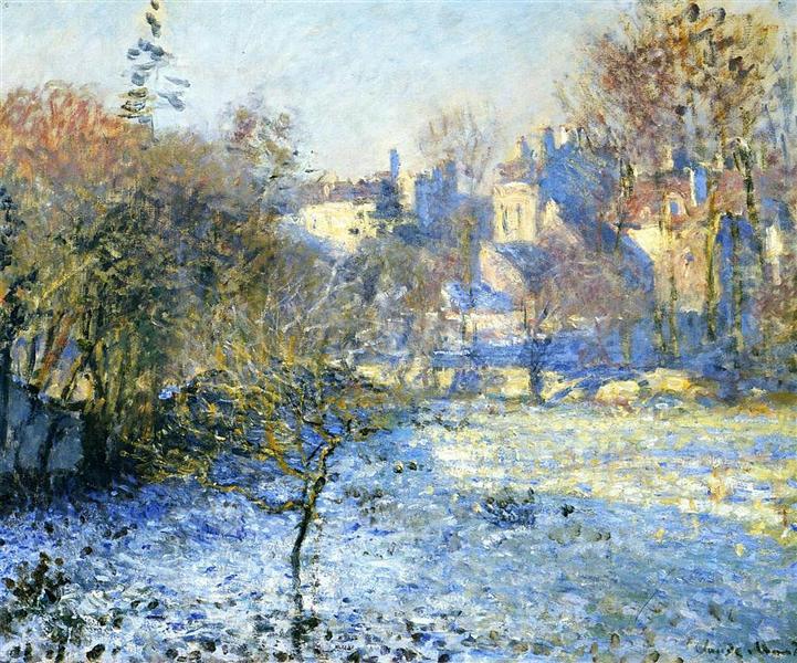 Frost, 1875 - Claude Monet