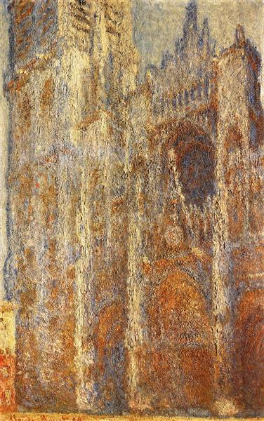Rouen Cathedral at Noon, 1894 - Claude Monet