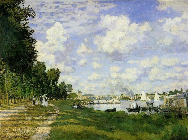 The Basin at Argenteuil, 1872 - Claude Monet