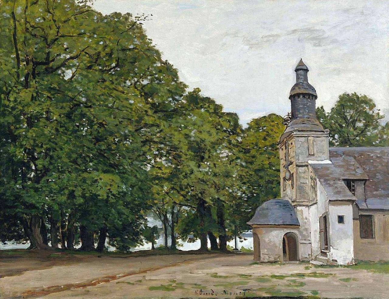 The Chapel Notre-Dame de Grace at Honfleur, 1864