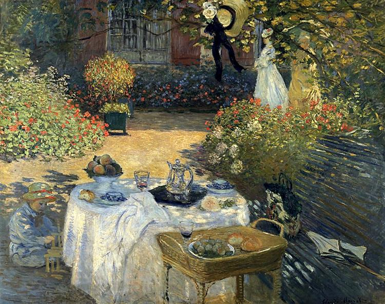 The Luncheon, 1873 - Claude Monet