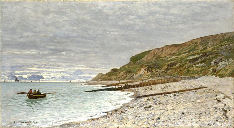 The Pointe of Heve, 1864 - Claude Monet