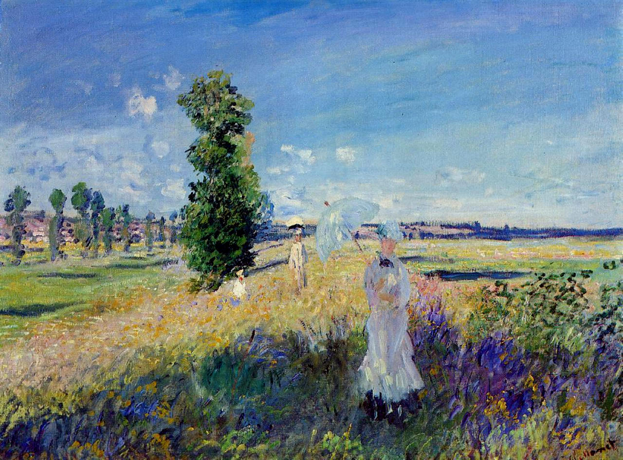 a brief biography of claude oscar monet a french painter While some may have wondered with trepidation what it could mean for the artist's reputation as a singularly french artist to resort to foreign influence, the impressionist defender julien leclercq felt that monet had surpassed the japanese with this series.