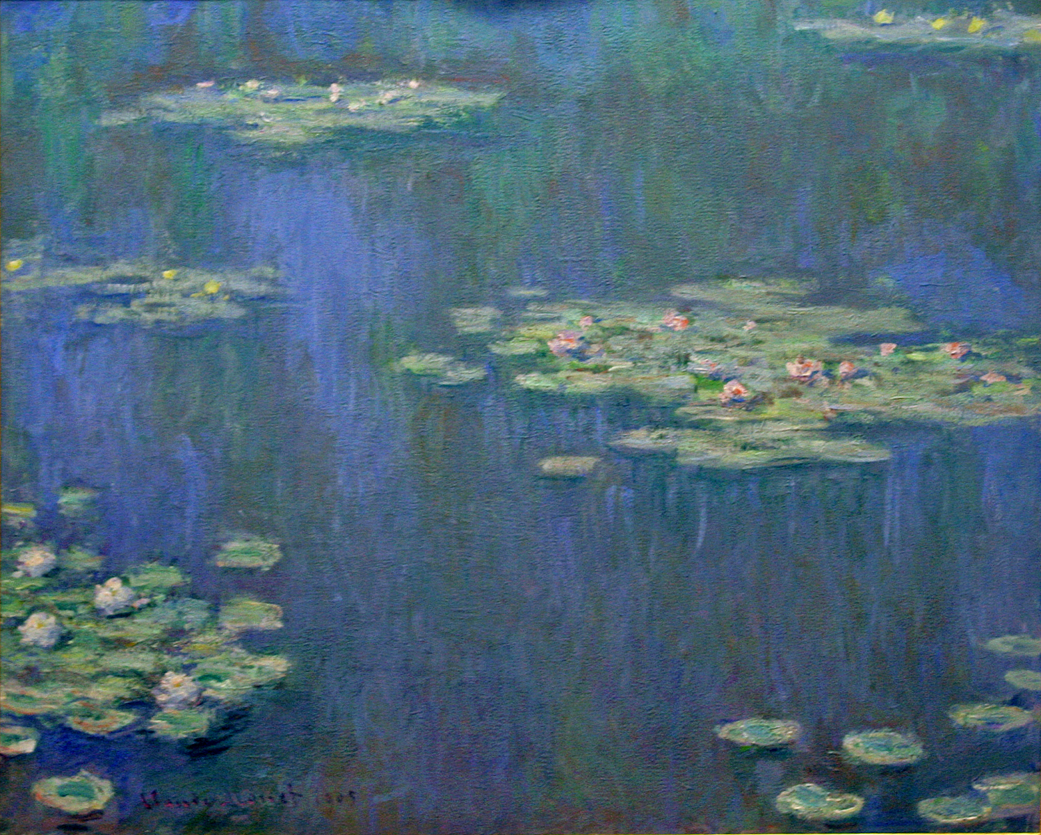monet water lilies desktop background